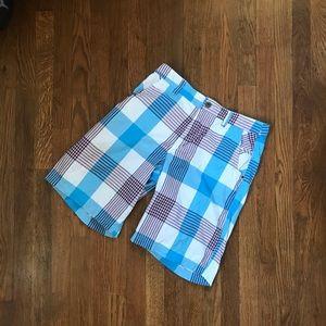 Lululemon Plaid Golf Shorts